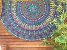 Indian Round Mandala Tapestry Wall Hanging Beach Throw Yoga Mat Boho Table Mat