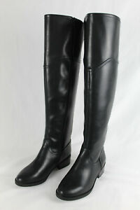 Totoes New York Women's - Hope Over The Knee Riding Boots, Black, Size 6.5M