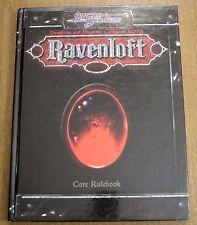 Ravenloft Third Edition Core Rulebook - Dungeons & Dragons - Excellent condition