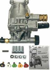 Pressure Washer Pump Excell Devilbiss Horizontal Pk18219 Pk16631 Bonus Wand Tips