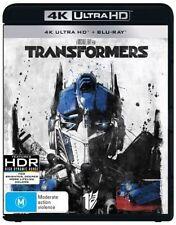 Transformers 4K (Blu-ray, 2017, 2-Disc Set) Brand New & Sealed