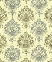 Vinyl Peel and Stick Wallpaper Damask Self Adhesive Contact Paper for Bedroom