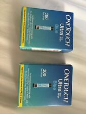 one touch ultra test strips 200 count exp 06/30/2020