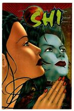 SHI #7 NM- SPECIAL CHROMIUM EDITION! Limited to 5000 & its Signed by BILL TUCCI!