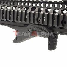 Black Cobra Tactical Ergonomic Angled Fore Grip for Picatinny Rails Hand Stop BK