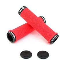 SRAM DH Silicone Locking Grips , 33 x 130mm , Double Clamps , Red