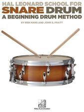 Hal Leonard School For Snare Drum - A Beginning Method Tecnique Instruction Book