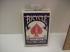 Vintage Playing Cards BICYCLE RIDER BACK POKER SEALED BLUE DECK