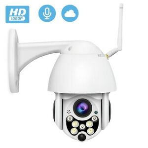 2MP Wireless WiFi IP Camera Full HD 1080P Outdoor 5X Zoom Pan Waterproof CCTV