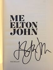 Elton John Authentic Signed ME Autobiography