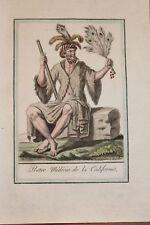 CALIFORNIE AMERIQUE 3 GRAVURES COULEURS 1796 - GRASSET SAINT SAUVEUR