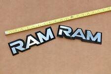 81-93 Dodge Pickup Truck W D 150 250 RAM Emblem Fender Badge