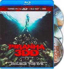 PIRANHA 3DD - 3 DISC SET **NEW BLU-RAY 3D + DVD**