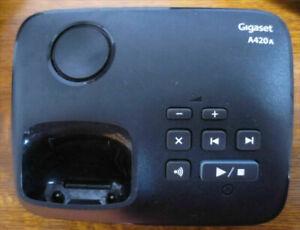 Station de base/répondeur Gigaset A420 avec chargeur