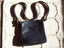 """Vintage"" ~ Genuine ~ Coach ~ Over the Shoulder Purse No. CON-9144 Black Leather"