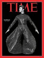 Murale Imprimé - Vintage Rétro Magazine Affiche - Temps David Bowie - A4,A3,A2,