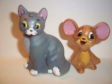 """Fenton Glass """"Tom & Jerry"""" Cat and Mouse Set Limited Edition #7/12 - 2009"""