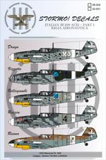 STORMO! DECALS - ITALIAN MESSERSCHMITT Bf.109 ACES - PART I - 1/48 - RA
