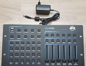 American DJ Hexcon Console Lumière ADJ pour PAR leds RGBAW+UV