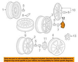 Chevrolet GM OEM 05-06 Equinox Wheels-Center Cap 9595558