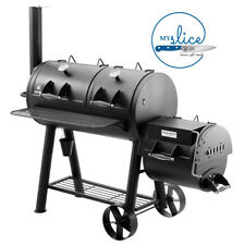 Hark Texas Pro Pit Offset Smoker HK0527 - Charcoal BBQ / Grill