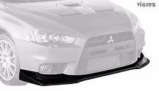 Vicrez Mitsubishi Lancer Evo 10 X 2008-2015 VZEX Style Polyurethane Front lip