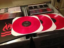 Hot Water Music Live In Chicago 3x RED VINYL LP Record & MP3! only 550 punk NEW!