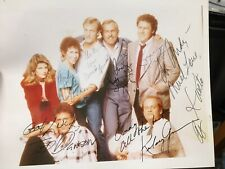 Cast Of CHEERS signed 8x10 Photo....JSA CERTIFIED