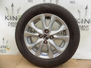 "Mazda 2 2015 ON MK3 15"" INCH ALLOY WHEEL + TYRE 15X5 1/2J 40 9965395550 #845"