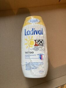 3 X Ladival Sonnenschutz Lotion TATTOO LSF 50 UVB/UVA/Infrarot-A 200 ml. NEU
