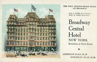 NEW YORK CITY – Broadway Central Hotel Rooms $1.00
