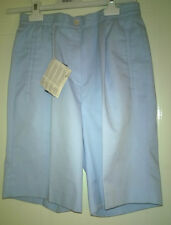 Lyle and Scott Ladies Golf shorts KD204 surf blue size 8 bnwt now 50% off