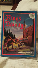 King's Bounty - Apple II - Amiga - New World Computing CIB - RARE @_@ @_@ @_@
