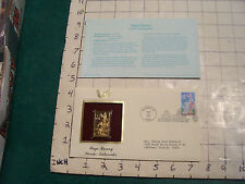 Gold stamp cover: BUGS BUNNY