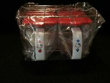 Hello Kitty Plastic Containers with Metal Rack