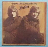 ENGLAND DAN & JOHN FORD COLE ~ FABLES ~ 1972 UK 9-TRACK VINYL LP RECORD [A1/B1]