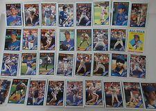 1988 Topps New York Mets Team Set of 33 Baseball Cards