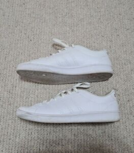 Adidas Womens Trainers, Size Uk4.5, White, Leather