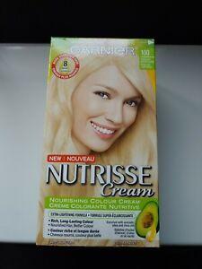 Garnier Nutrisse Cream Haircolor 100 Extra Light Natural Blonde Permanents NEW