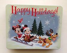 Disney Parks EMPTY Holiday Christmas Tin Great Souvenir NO PEPPERMINT BARK INCL.