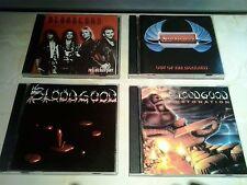 BLOODGOOD First 4 CD COLLECTION CHRISTian Metal BRIDE Saint STRYPER BarrenCross