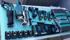 Makita 18 Volt 6 Piece 5.0Ah LXT Brushless Kit Power Tool Combo Set NEW