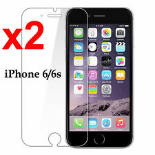 x2 Anti-scratch 4H PET film screen protector Apple iphone 6 6s front