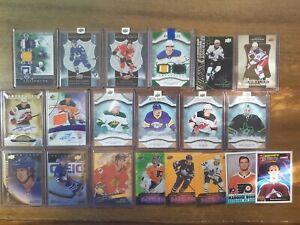 2010-21 Upper Deck NHL Lot (33) Auto, #/40, RC- Kaprizov, Crosby, Hart, Byram