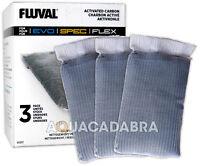 FLUVAL SPEC STAGE 2 A1377 ACTIVATED CARBON 3 PACK FISH TANK AQUARIUM MEDIA