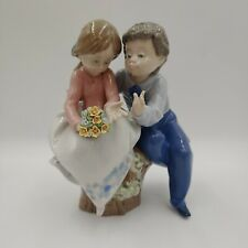 LLADRO 5701 Just a Little Kiss Made in Spain Retired