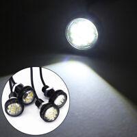 4x White DC 12V 15W Eagle Eye LED Daytime Running DRL Backup Light Car Auto Lamp