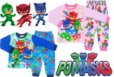NEW SZ 2-7 KIDS BOYS PYJAMAS WINTER PJ MASKS SLEEPWEAR NIGHTIES TSHIRT CATBOY