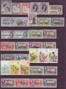 Falkland Is. Dependancies - 53no. different stamps (CV $192)