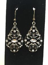 Southwestern, Sonoran, Mexican style dangle Fashion Earrings with bling